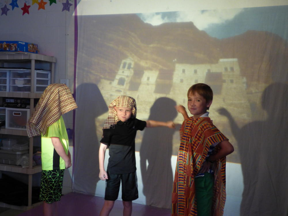 DRAMA/PUPPETS/STORYTELLING Workshop Lessons and Ideas for Joshua ...