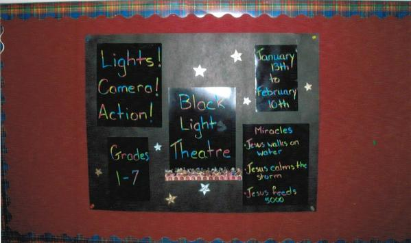 13 Performance Bulletin Board