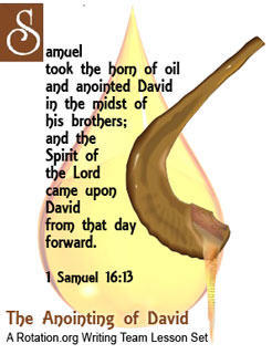 WT Anointing of David Bible Background Rotation