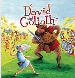David & Goliath storybook
