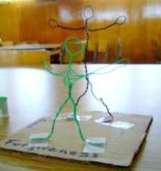 Wire Sculpture example