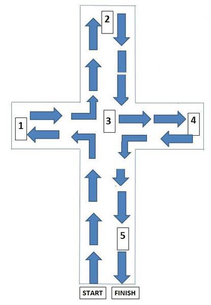 Cross Labyrinth