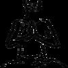 Namaste postion