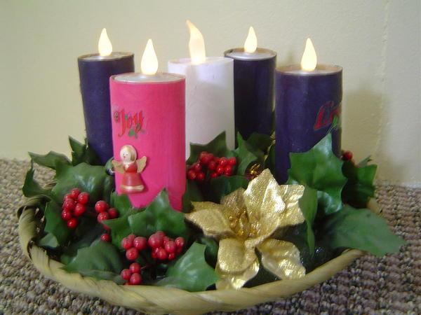 Art 2006 Advent Wreath 4