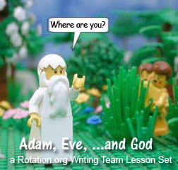 God calls out where are you to Adam and Eve