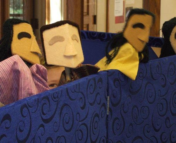 Close up of puppets - FUMC Ann Arbor