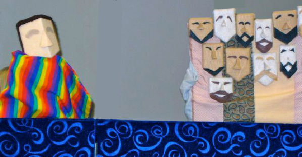Joseph and his brothers (a group puppet)