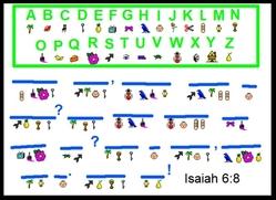 Isaiah 6_8 Code Puzzle Sample