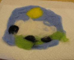 felted product