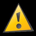 an alert sign