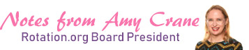 Notes from Amy Crane, our Board President