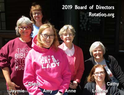 Photo of our 2019 Board Members