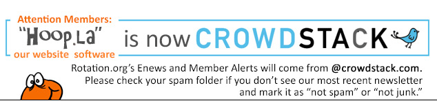 A very important message from Rotation.org, now powered by Crowdstack.com