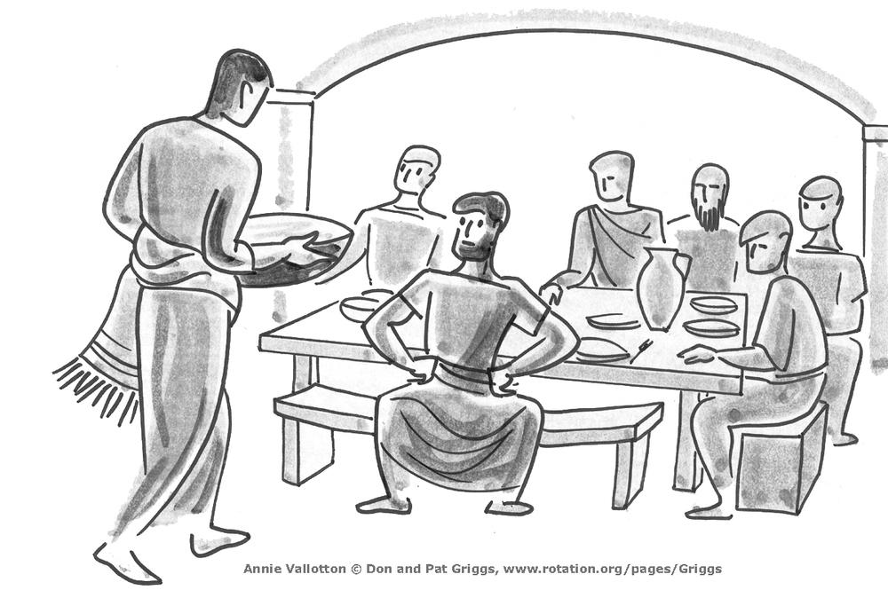 Foot Washing, Jesus and Peter, John 13