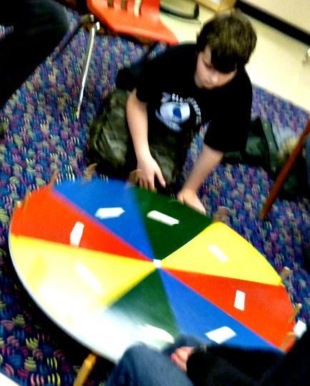 Game wheel 2