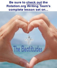I have a final on the Beatitudes tomorrow! Help please!!?