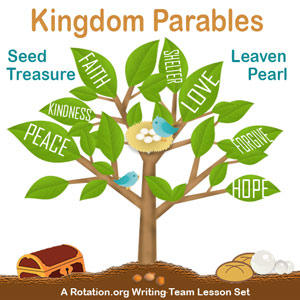 kingdom parables The parable of the net let down into the sea, has some points in common with that of the wheat and the tares it is intended to instruct us on a most important subject, the true nature of the visible church of christ.
