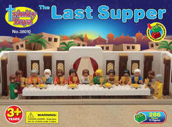 Trinity Toyz The Last Supper Toy Block Set