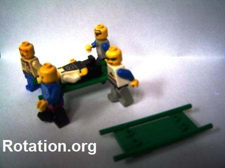Through the Roof using Lego Stretcher