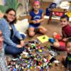 Lego build - burning bush