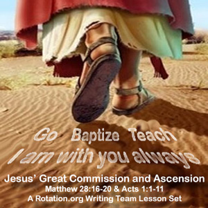 Wt The Great Commission And Ascension Of Jesus Bible