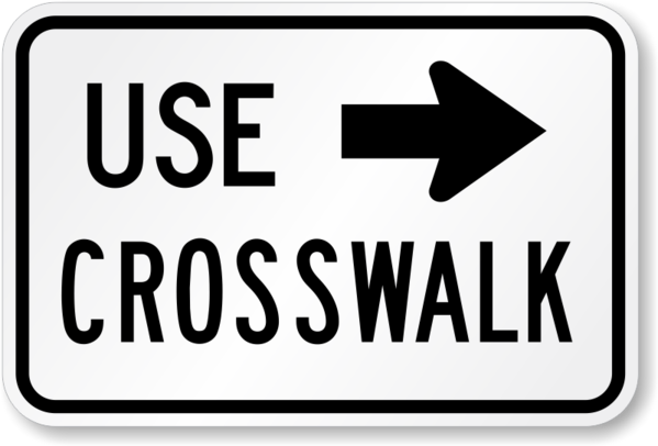 Sign-UseCrosswalk