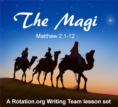 Logo for the Writing Team Magi set of lessons