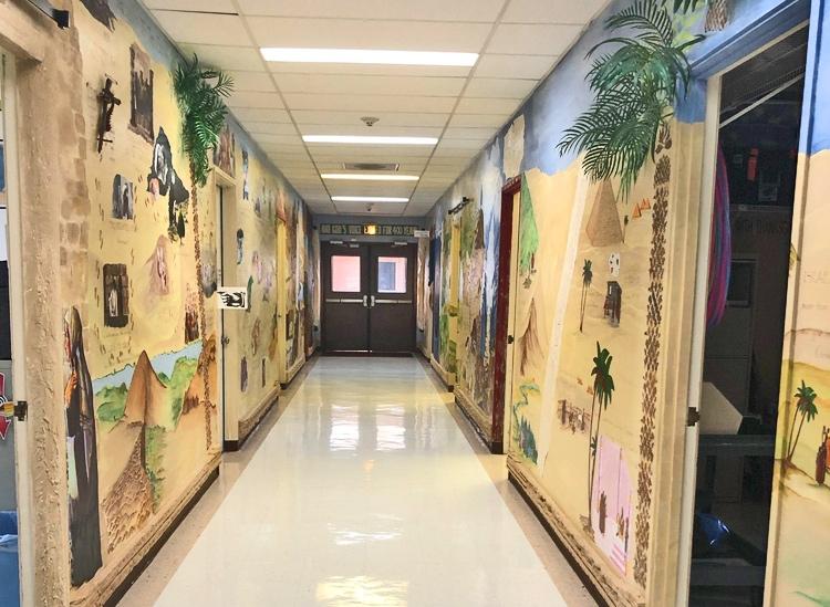 Classroom Hallway Renovation