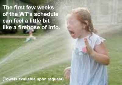 A firehose of work