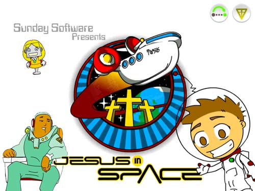 Jesus in Space software