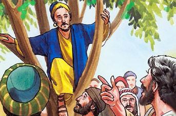 Jesus and Zaccheus, Luke 19:1-10