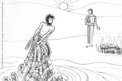 Jesus-Peter-Resurrection-Net-Fish-John21-Vallotton