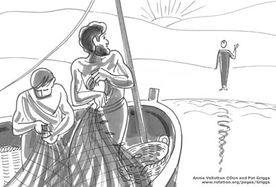 Jesus-Resurrected-Peter-Boat-John21-Vallotton