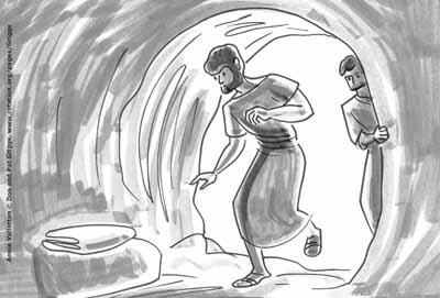 Peter-Empty-Tomb-Luke24-Vallotton